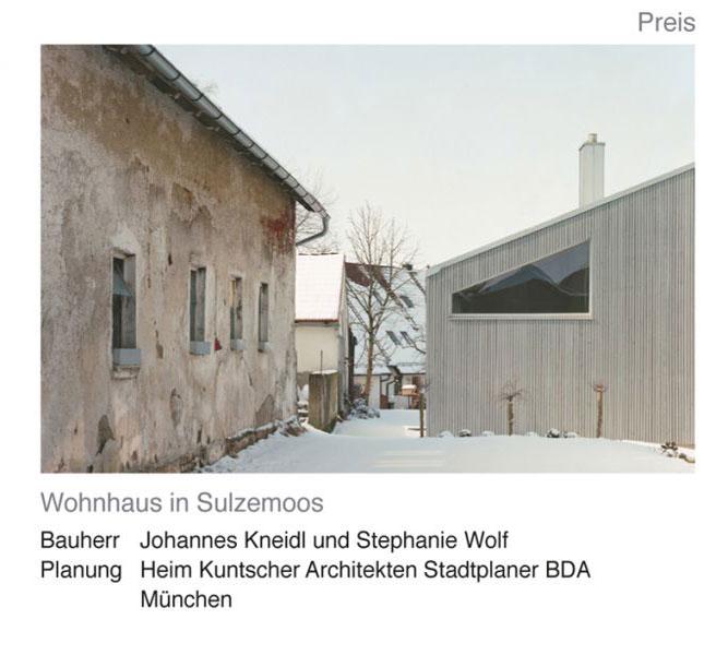 Architekt Dachau architekturforum dachau lobt architekturpreis 2011 für gutes bauen aus