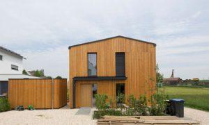Ortstermin Außergewöhnliche Wohnhäuser Holzhaus Bachern