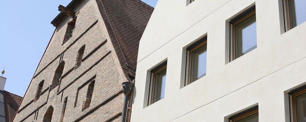 Mit dem Architekturforum Dachau auf Tagesexkursion Landshut.