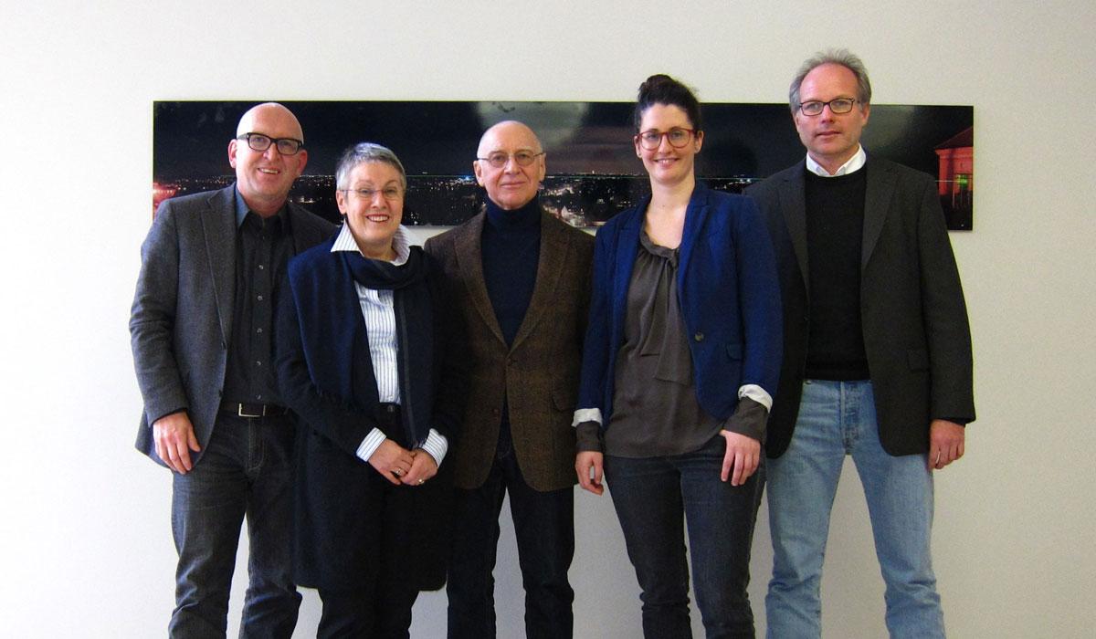 Der Vorstand des Architekturforum Dachau 2017