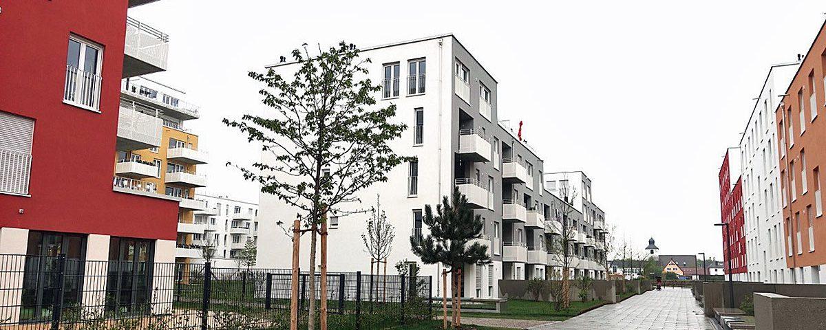 """Stadtspaziergang Karlsfeld """"Neue Mitte"""" mit dem Architekturforum Dachau"""