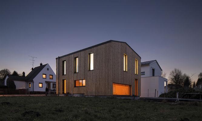 ArchitekturpreisDachau 2017 Neubau Privathaus in Holzbauweise Rückert