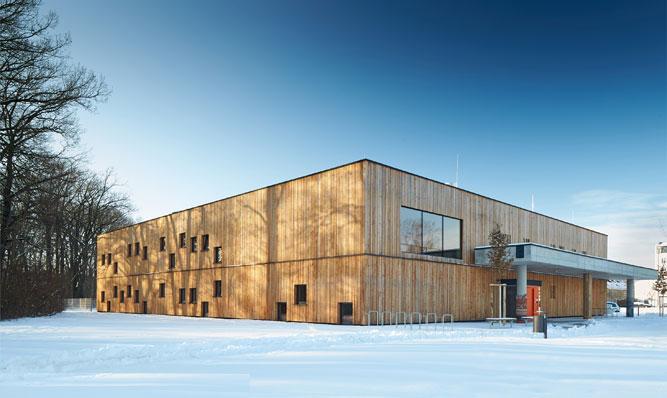 ArchitekturpreisDachau 2017 Kinderkrippenhaus Am Wäldchen