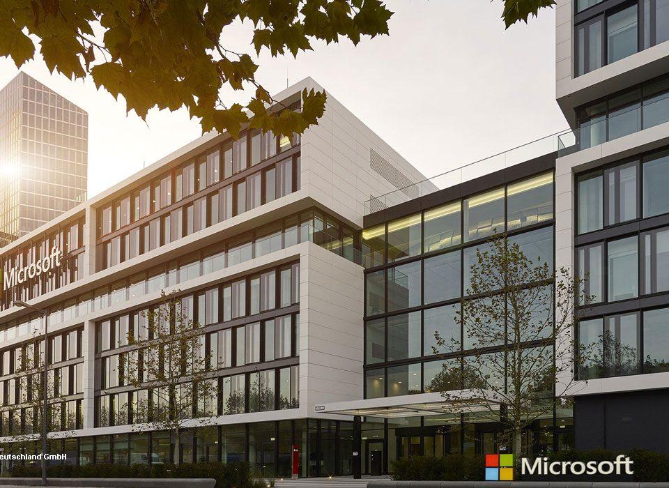 Ortstermin Microsoft Deutschland GmbH
